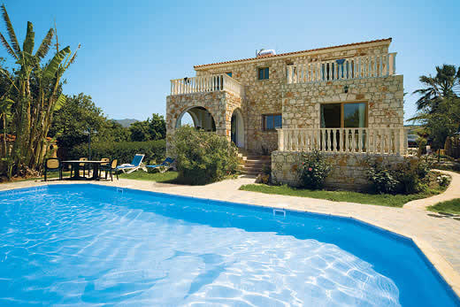 Holiday villa deal for Cyprus with private swimming pool