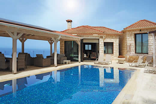 Holiday photo of Pomos View villa