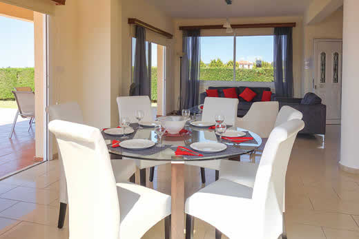 £307.00 for Cyprus self catering holiday villa