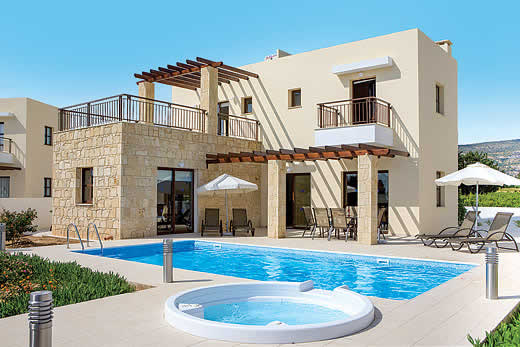 Holiday villa offer for Cyprus with swimming pool