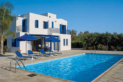 £348.00 for Cyprus self catering holiday villa