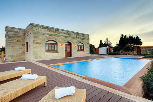 Enjoy a great self catering holiday villa in Malta