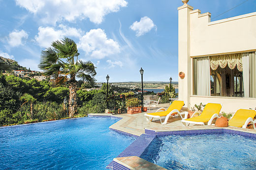 £411.00 for Malta self catering holiday villa