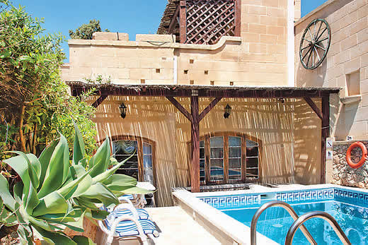 £1007.00 for Gozo self catering holiday