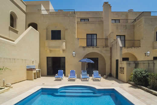 £907.00 for Gozo self catering holiday villa