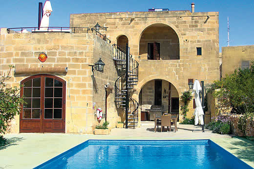 £1727.00 for Gozo self catering holiday villa