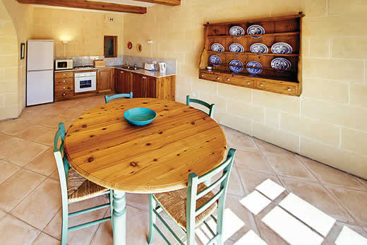 Enjoy a great self catering holiday villa in Gozo