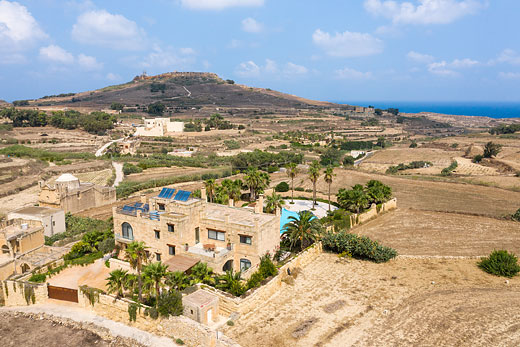£1480.00 for Gozo self catering holiday