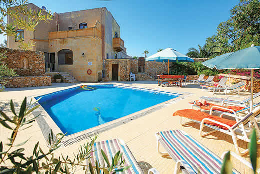 £1828.00 for Gozo self catering holiday