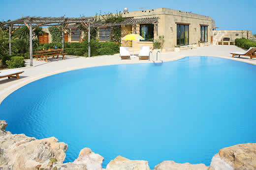 £1140.00 for Gozo self catering holiday