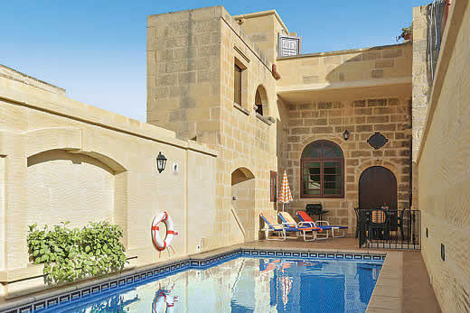 £1044.00 for Gozo self catering holiday
