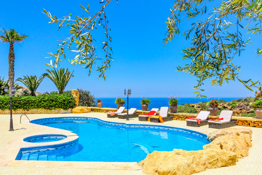 £2478.00 for Gozo self catering holiday villa