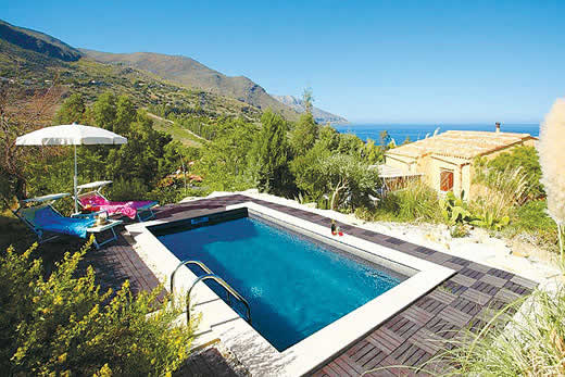£1317.00 for Sicily self catering holiday villa