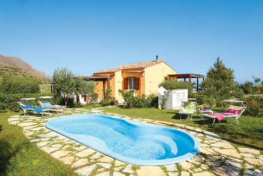 £1247.00 for Sicily self catering holiday villa