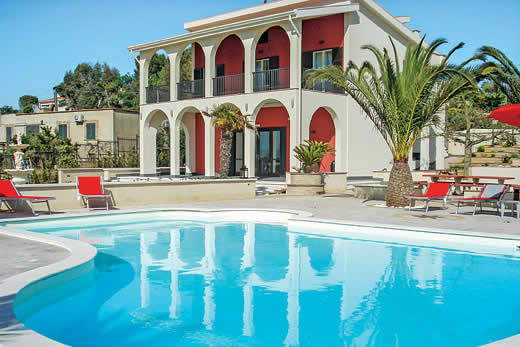 £1387.00 for Sicily self catering holiday