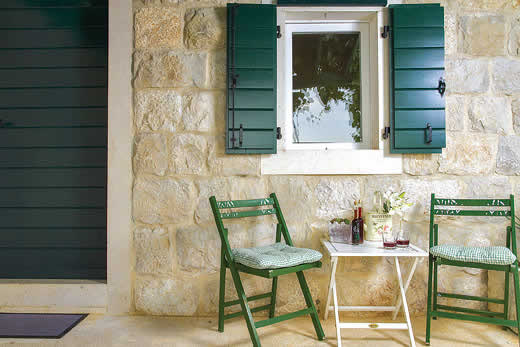 Enjoy a great self catering holiday villa in Dalmatia