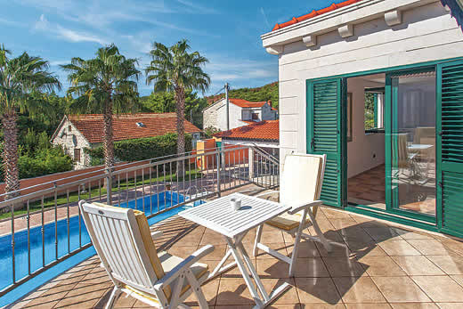 £1196.00 for Dalmatia self catering holiday villa