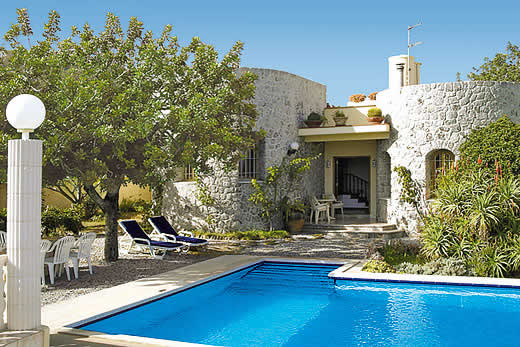 £1268.00 for Ibiza self catering holiday
