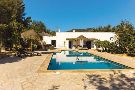 £1192.00 for Ibiza self catering holiday