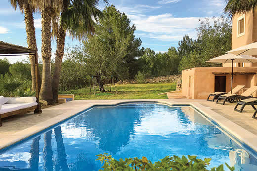 £1636.00 for Ibiza self catering holiday