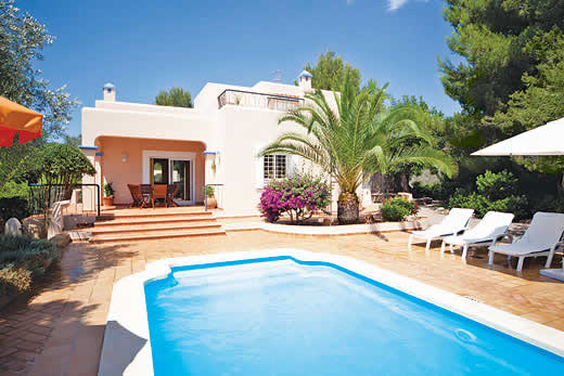 £628.00 for Ibiza self catering holiday