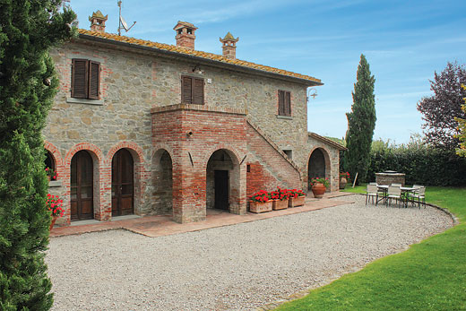 £1534.00 for Tuscany self catering holiday