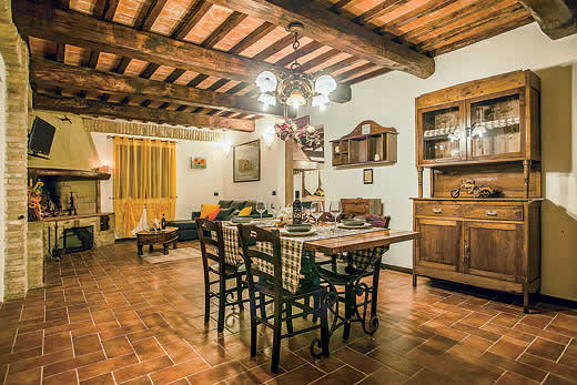£1260.00 for Tuscany self catering holiday villa