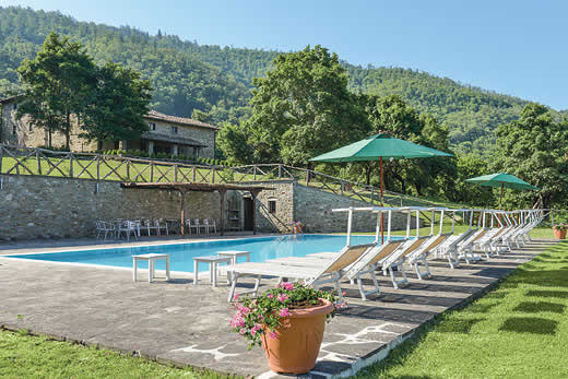 £3489.00 for Tuscany self catering holiday