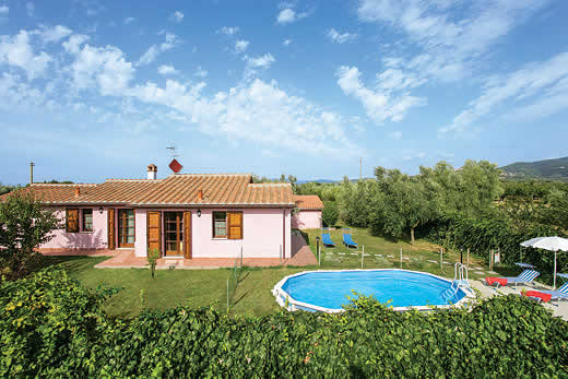 £502.00 for Tuscany self catering holiday