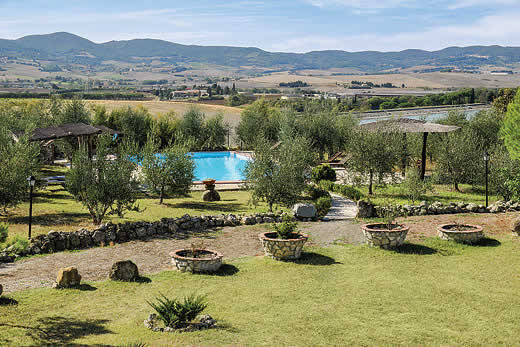 £943.00 for Tuscany self catering holiday