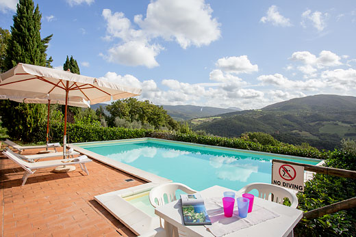 £439.00 for Tuscany self catering holiday