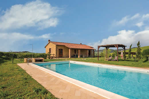 £1294.00 for Tuscany self catering holiday villa