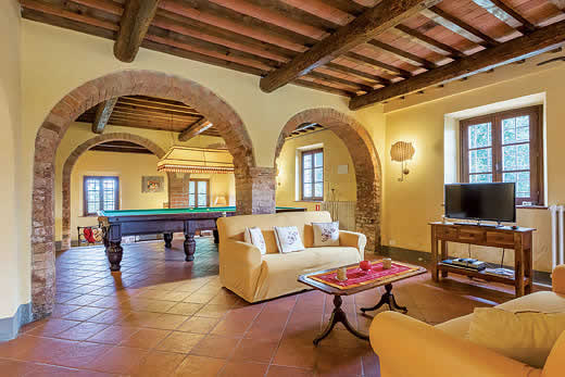 Enjoy a great self catering holiday in  Tuscany