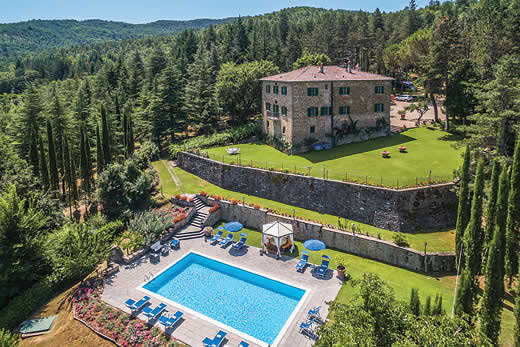 £2688.00 for Tuscany self catering holiday