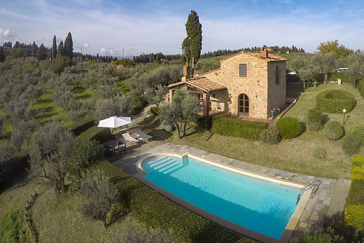 £471.00 for Tuscany self catering holiday