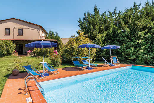 £804.00 for Tuscany self catering holiday
