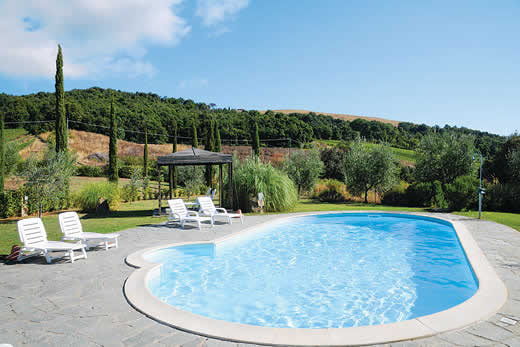 Holiday villa deal for Tuscany with private swimming pool