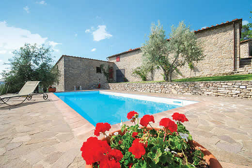 £1973.00 for Tuscany self catering holiday