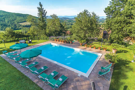 £2390.00 for Tuscany self catering holiday
