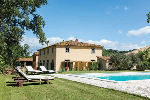 £2052.00 for Tuscany self catering holiday