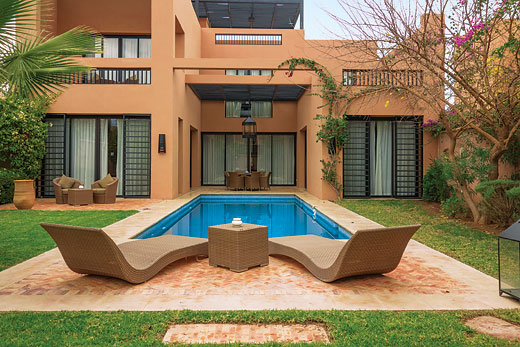 Holiday villa offer for Marrakech with swimming pool