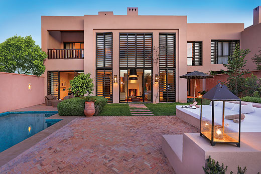 Holiday villa deal for Marrakech with private swimming pool