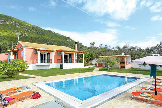 £863.00 for Corfu self catering holiday