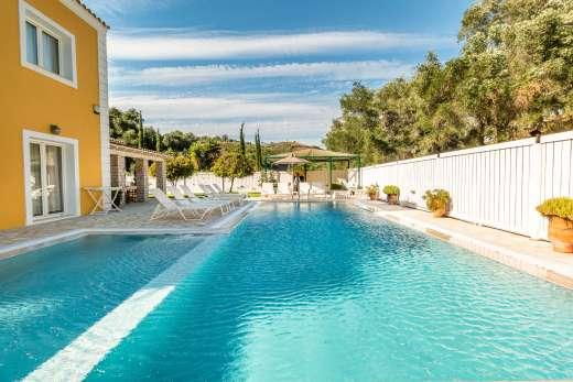 Corfu a great place to enjoy a self catering holiday