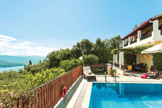 £454.00 for Corfu self catering holiday