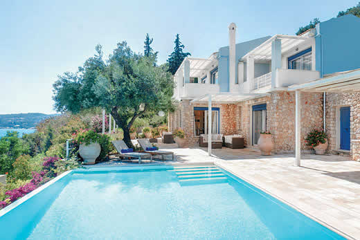 Holiday photo of Blue villa