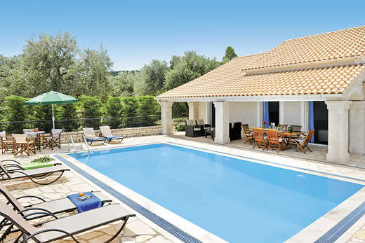 Enjoy a great self catering holiday in  Corfu