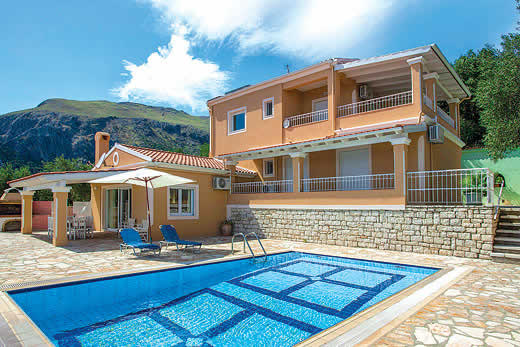 £450.00 for Corfu self catering holiday