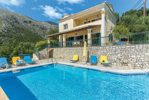 £877.00 for Corfu self catering holiday