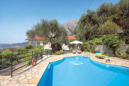 £741.00 for Corfu self catering holiday